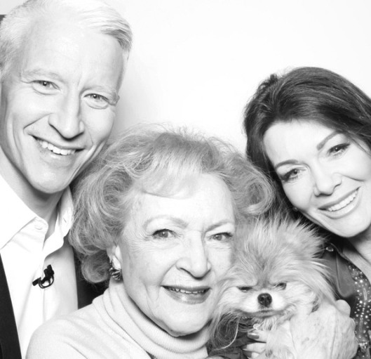 Anderson Cooper & Betty White